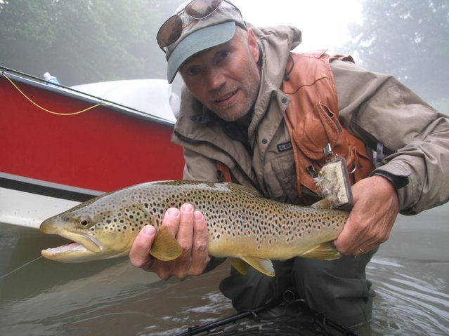 Al caucci fly fishing for Private trout fishing in missouri